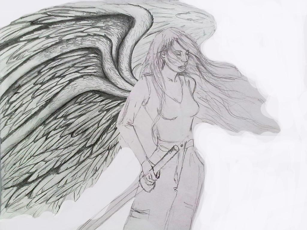 Makayla warrior angel 1